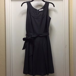 Calvin Klein grey dress